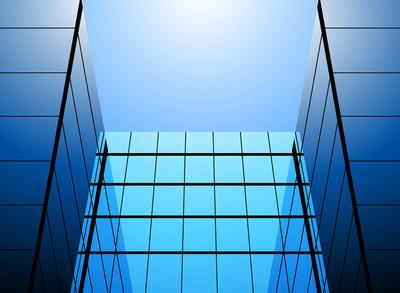 玻璃办公大楼