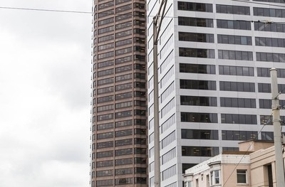现代城市的高楼大厦
