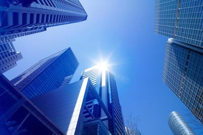 摩天大楼城市环境