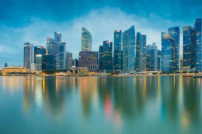在新加坡市容市中心商业写字楼