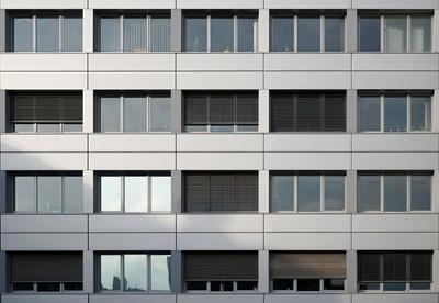 办公大楼的外观