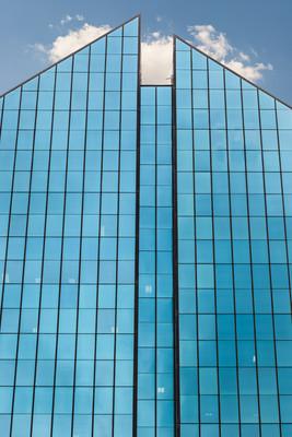 高高的摩天大楼