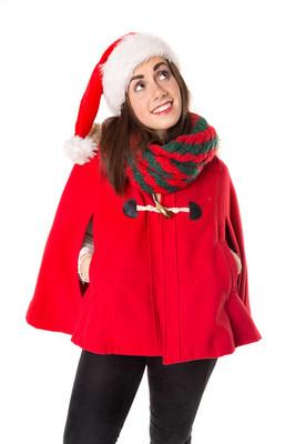 圣诞节的女孩