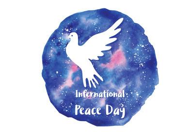节日问候图国际和平日
