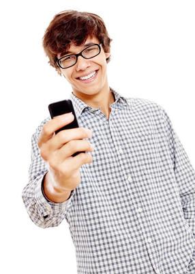 人发短信在手机上