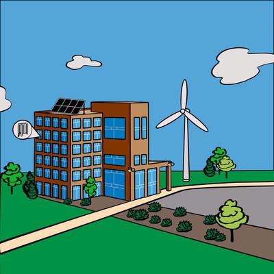 绿色建筑的替代品