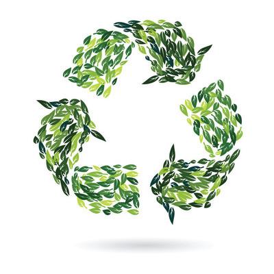 回收标志从叶