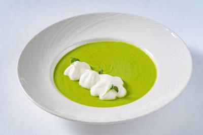 绿色奶油汤,关闭了