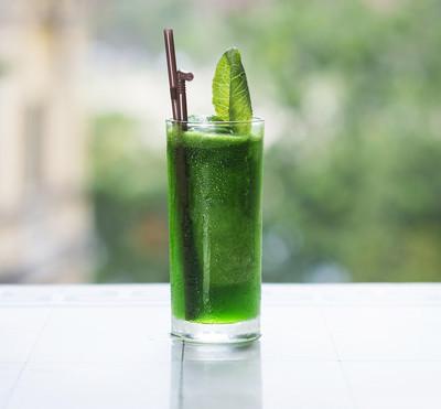 绿色蔬菜排毒汁
