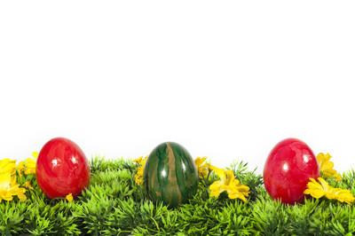 三个复活节彩蛋复活节在