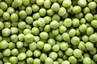 新鲜豌豆背景