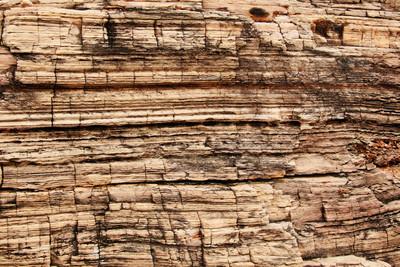 破裂的岩石纹理