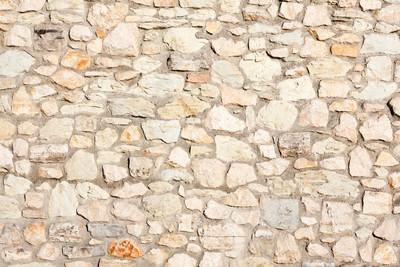 地中海自然石材墙背景