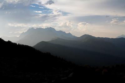 阿布哈兹的山地景观
