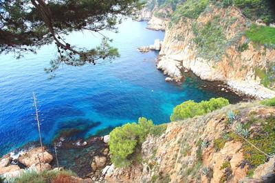 西班牙布拉内斯自然海海岸