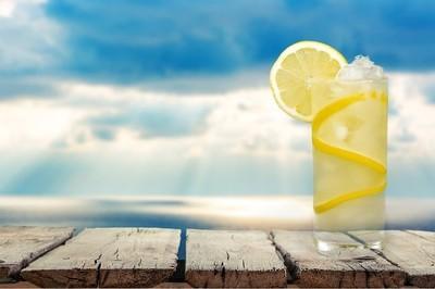 柠檬水,茶点,冷饮
