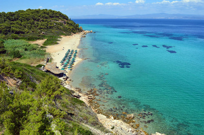 地中海沙质海滩