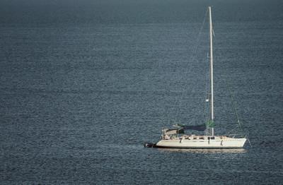 在地中海游艇