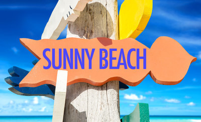阳光海滩值得欢迎的迹象