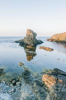 沙滩海岸与岩石的应用前景