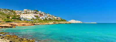 西班牙夏季海岸线美景