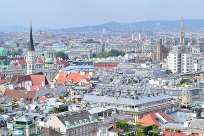 维也纳顶视图