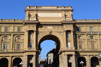 The Arch in Florence, Italy