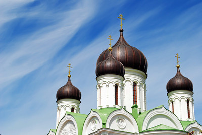 凯瑟琳的大教堂在普式金