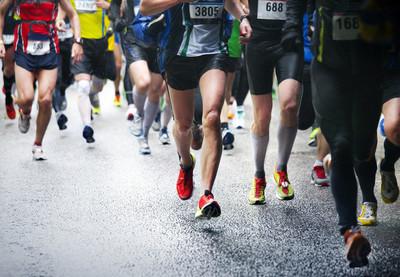 马拉松赛跑选手