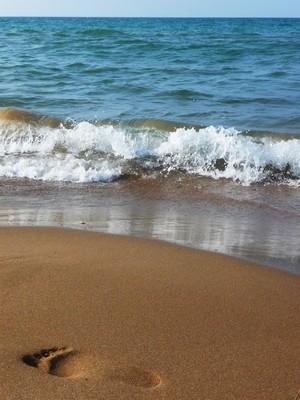 海滩上的地中海