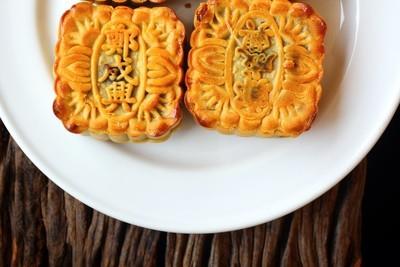 节日的月饼-中国甜品