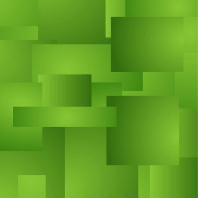 与绿色抽象背景分层矩形