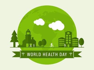世界卫生日概念