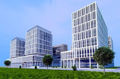 建筑摩天大楼