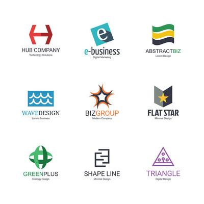 抽象 logo 设计
