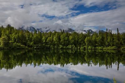 湖上阿拉斯加