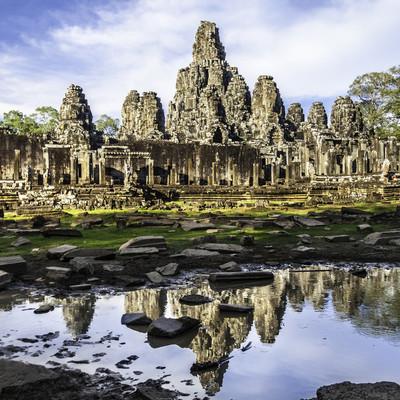 戎寺,吴哥寺,柬埔寨、 东南亚地区