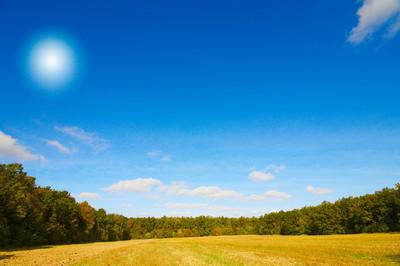 精彩场的秋天
