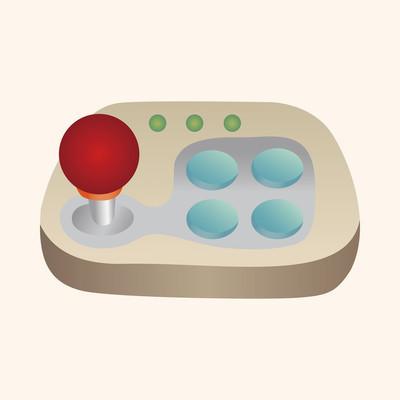 游戏控制主题元素