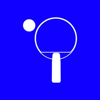 网球球拍图标