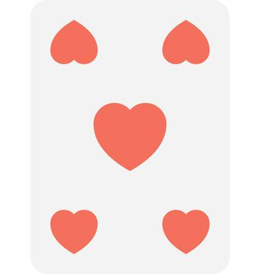 锹卡片平面向量图标