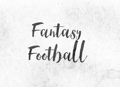 梦幻足球概念画墨字和主题