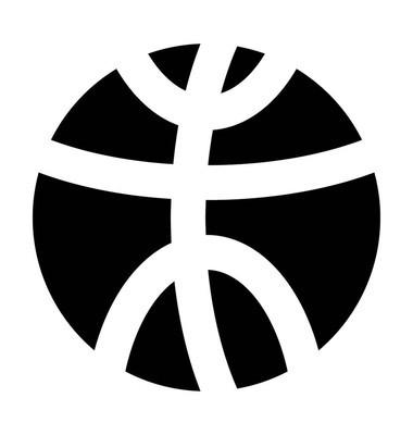 篮球矢量图标