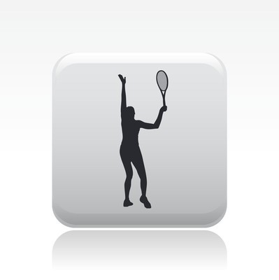 illustration of tennis icon