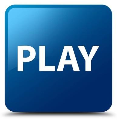 玩蓝色方形按钮