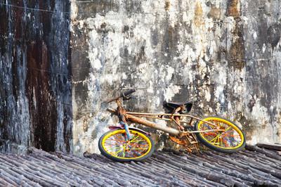 这辆旧自行车