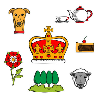 Traditional symbols of Great Britain