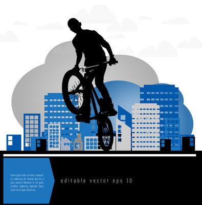 Bmx 单车图