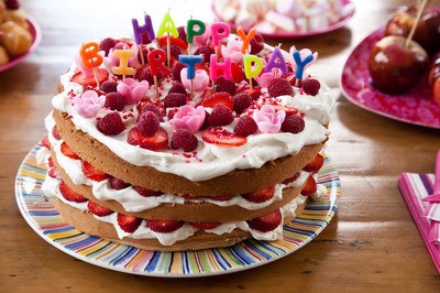 生日快乐蛋糕