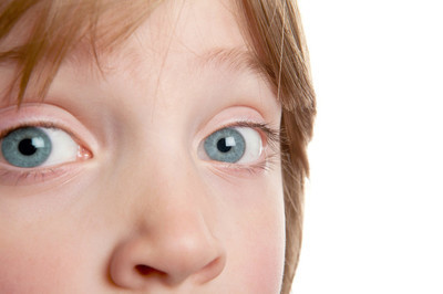 眼睛儿童虹膜男孩
